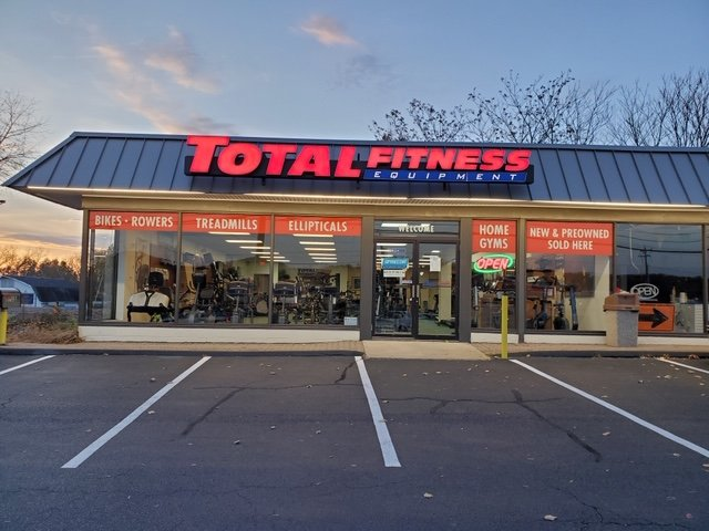 newington total fitness equipment store